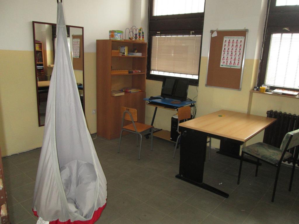Kabinet za psihomotorne vežbe sa asisitivnom opremom