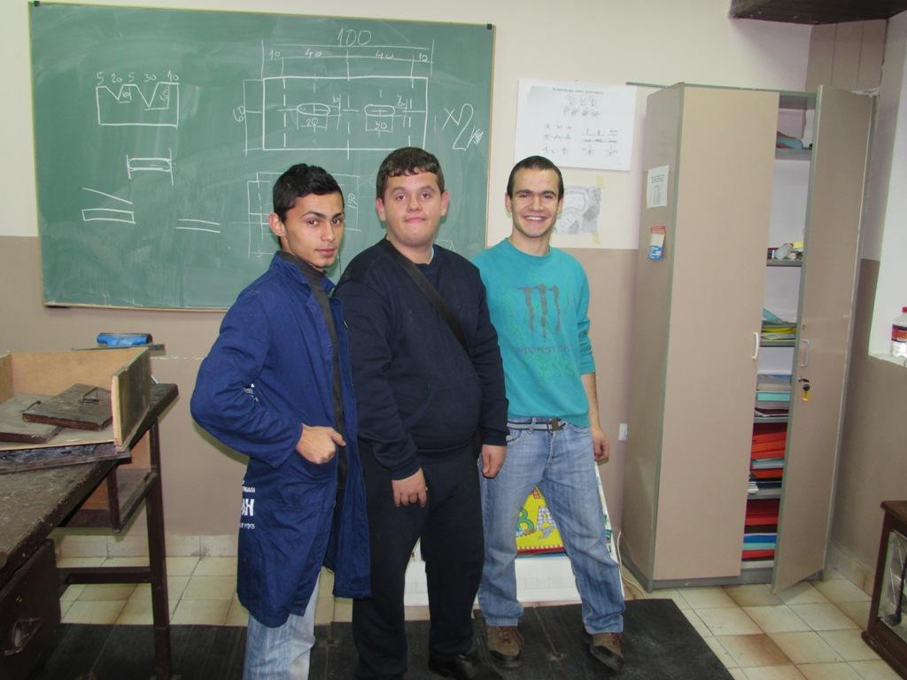 Učenici mašinske struke - bravari 2