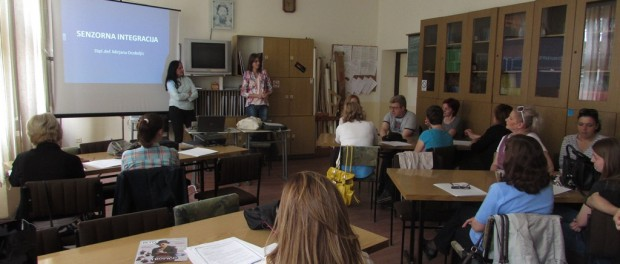 Семинар о примени Сензорне собе са асистивном технологијом за ефикасније учење